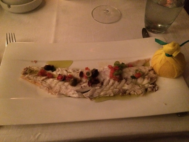villa azur pesce arrosto