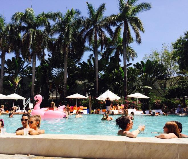Shore Club dettaglio piscina