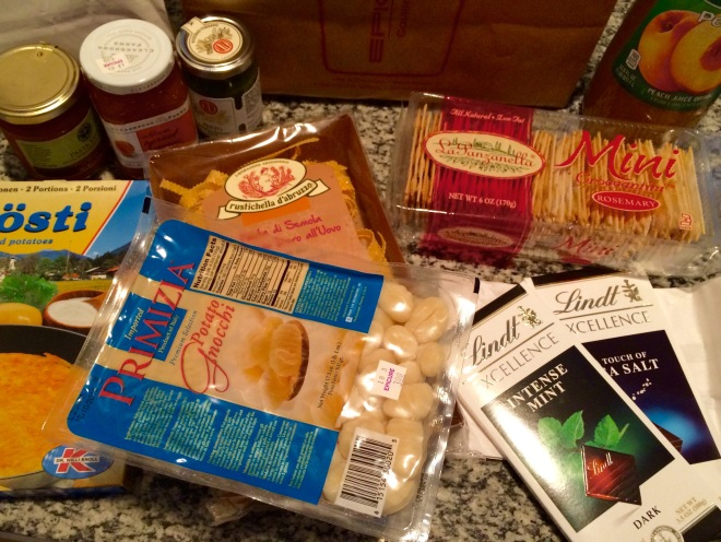Epicure Gourmet Market and Cafe i miei acquisti