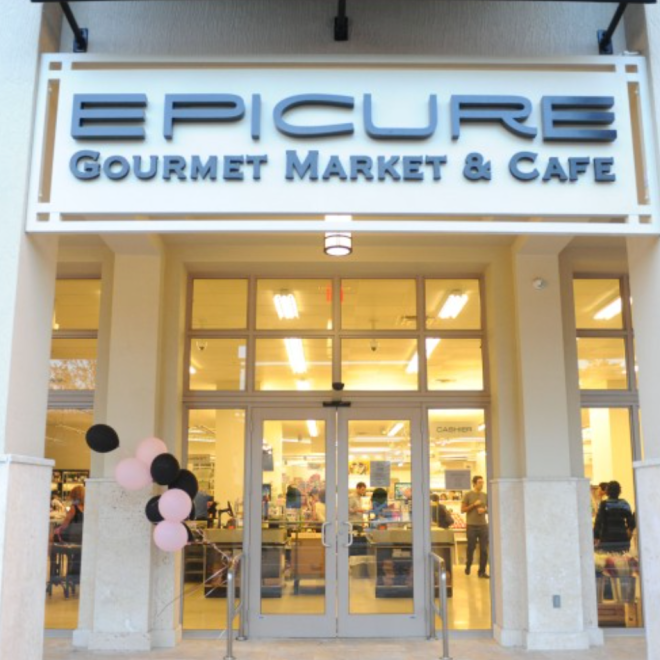 Epicure Gourmet Market and Cafe ingresso