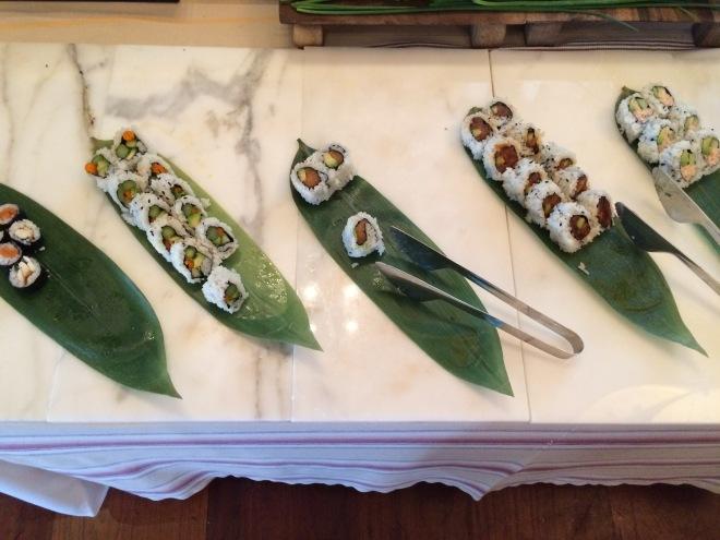 Delano il buffet sushi