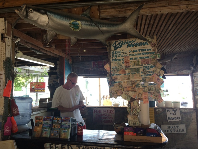 Isole Keys Tarpons ristorante